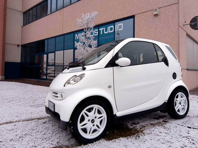 Pellicola Wrapping Bianco Car Wrapping White Bianco